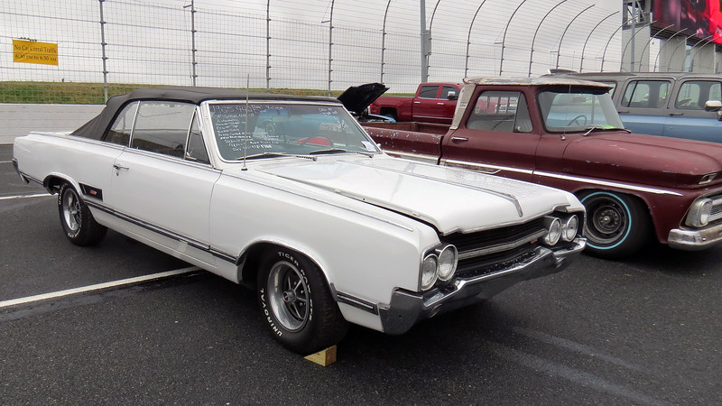 1965 Oldsmobile 442 convertible, asking $18,500.  If it's legit, it's a rare car being 1 of 3,468 made that year.