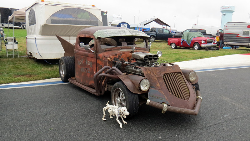 Spotted an interesting looking rat rod.