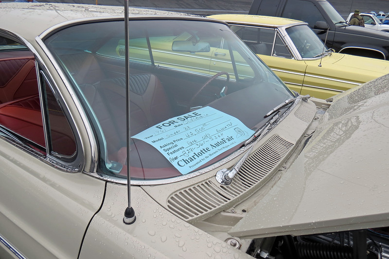 "This car was advertised as being a ""rare bubbletop."""