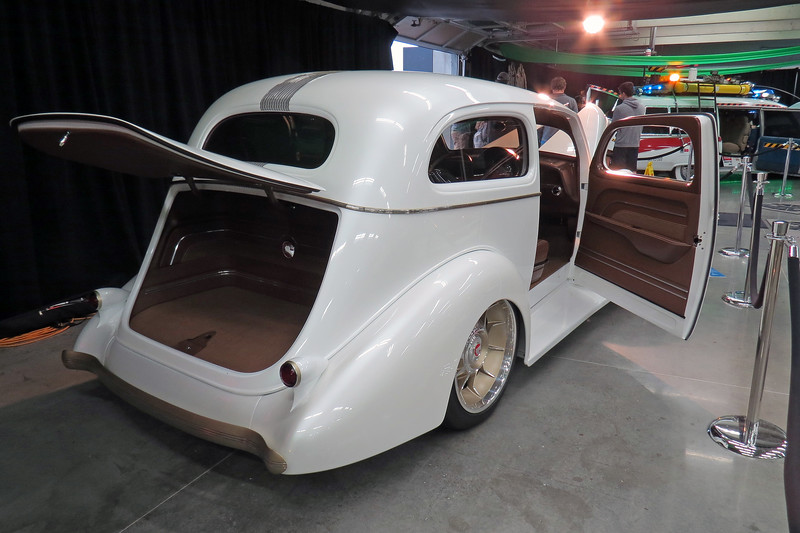"The 1936 Pontiac named ""Pindian"" seen in the photos above and below is another Ridler Great 8 award winner from 2018."