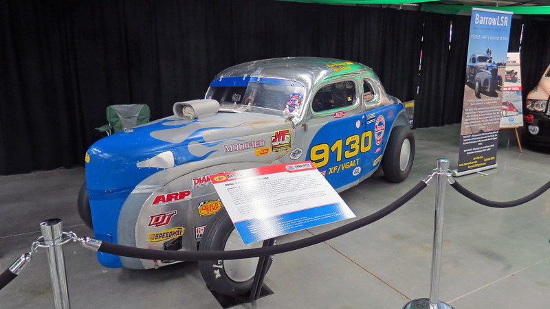 John Barrow's 1940 Ford coupe LSR.