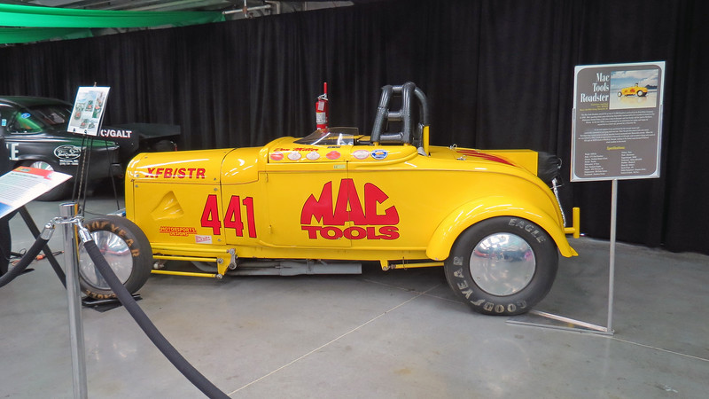 1929 Ford Model A Mac Tools Roadster.