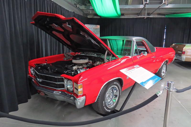 A rare 1971 Chevrolet El Camino SS454.