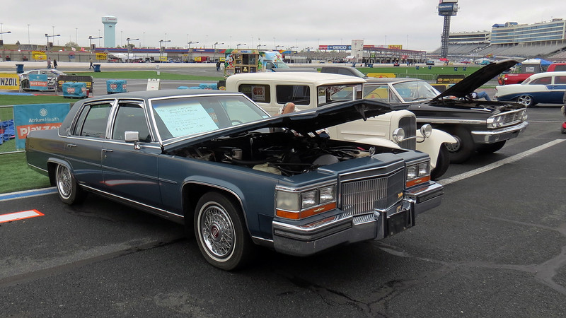 "1986 Cadillac Fleetwood Brougham, asking $8,500.  The car was advertised as having 75k original miles and, ""a full tank of gas"" so the new owner could ""drive it home."""