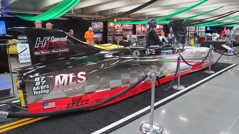 Mike Welch's H J Special streamliner.