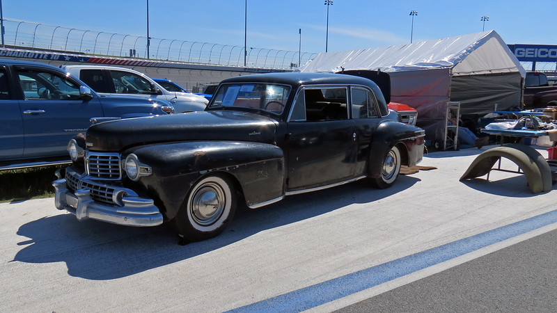1948 Lincoln Continental Club Coupe, asking $18,500.