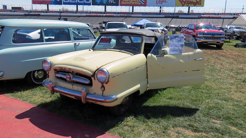 1954 Nash Metropolitan convertible, asking $3,500.