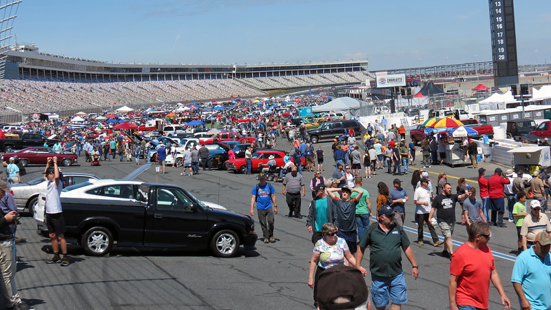 With Rob being busy with judging duties until the early part of the afternoon, I headed back inside the speedway to check out more of the Auto Fair.  Thankfully, Mother Nature was in a much better mood today !
