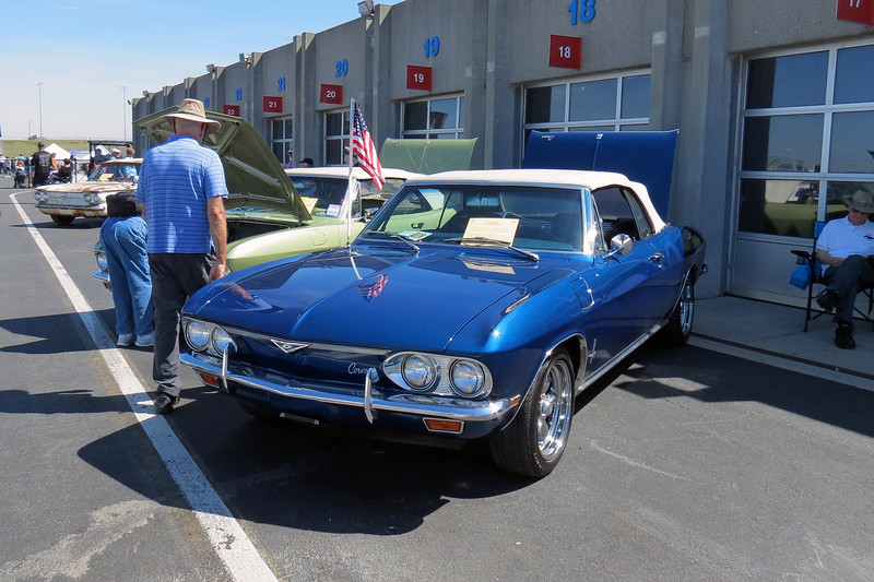 1969 Chevrolet Corvair Monza convertible, 1 of 521 made that year.