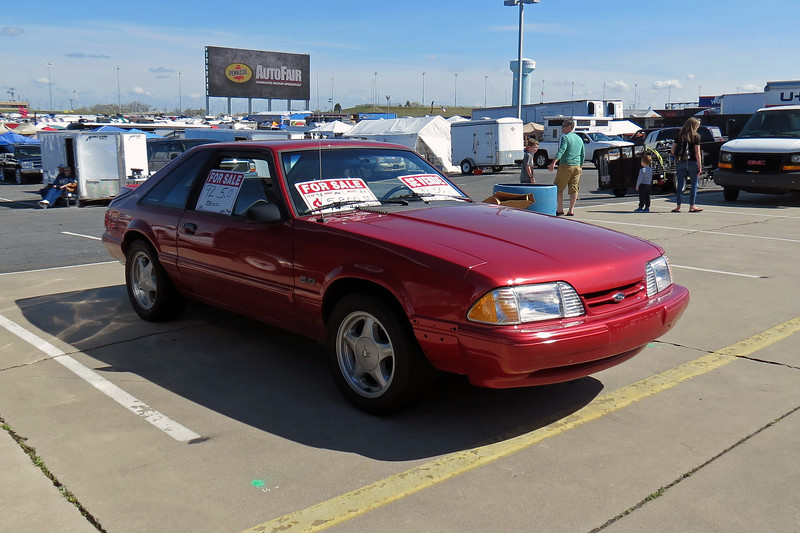 1992 Ford Mustang LX 5.0, asking $5,800.