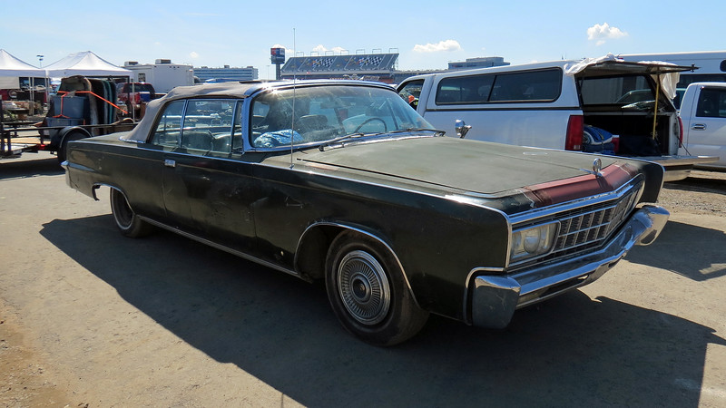 1966 Imperial convertible.