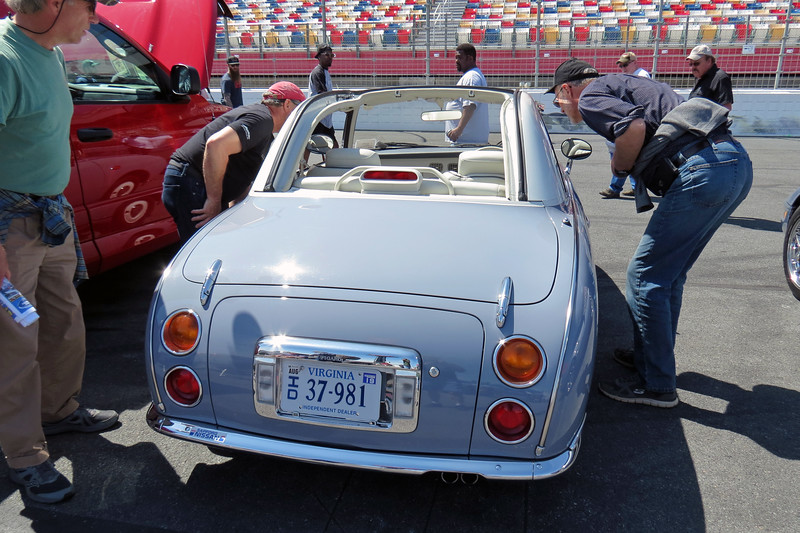 The Figaro is a one-year only retro styled convertible designed and built for the Japanese market.  All 20,000 cars produced are right-hand drive.