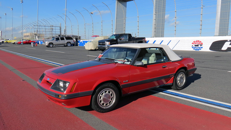 1986 Ford Mustang GT convertible.