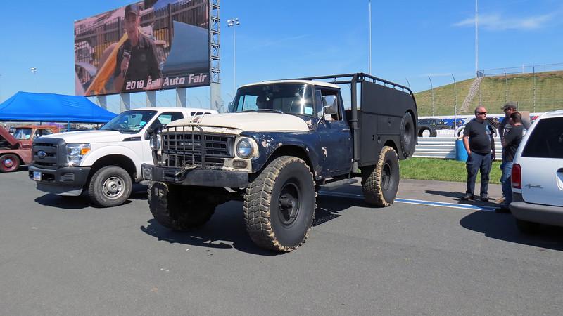 International C-Series truck.