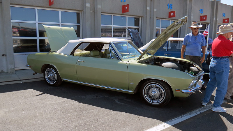 Another rare 1969 Chevrolet Corvair Monza convertible.