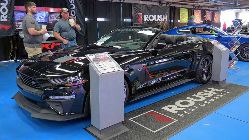 New Roush Stage 3 convertible.  What's not to love about 710 hp !