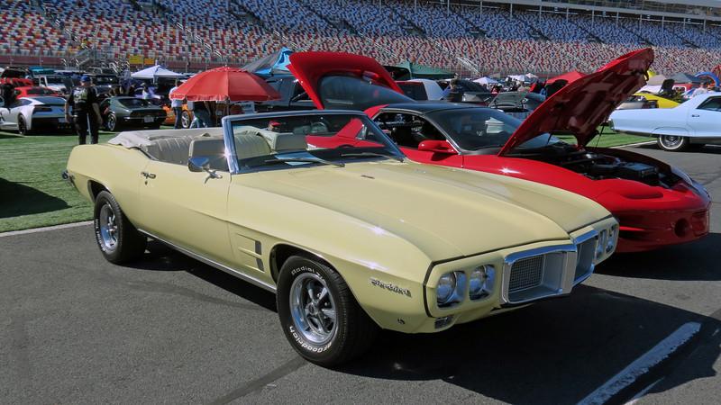 1969 Pontiac Firebird convertible.