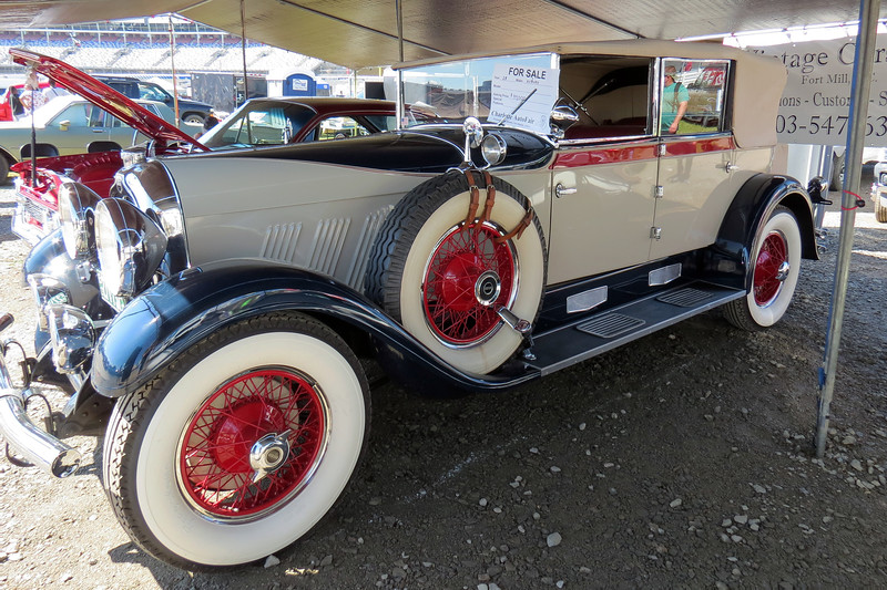 Vintage Cars Inc is a dealer/restoration facility and had a number of cars on display.