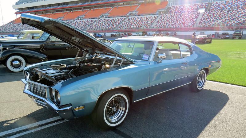 1972 Buick Skylark Sun Coupe.