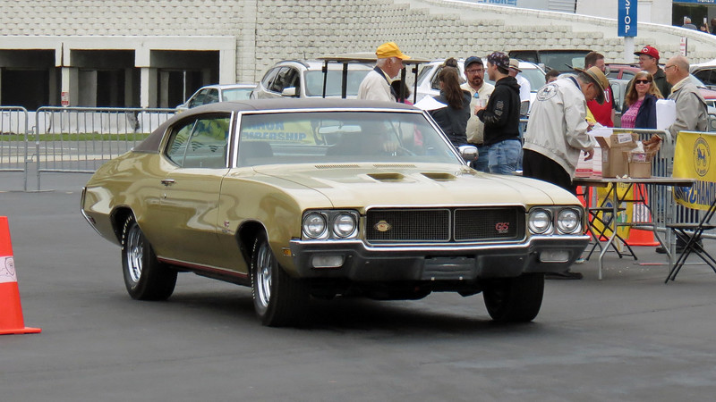 A rare 1970 Buick GS Stage 1.