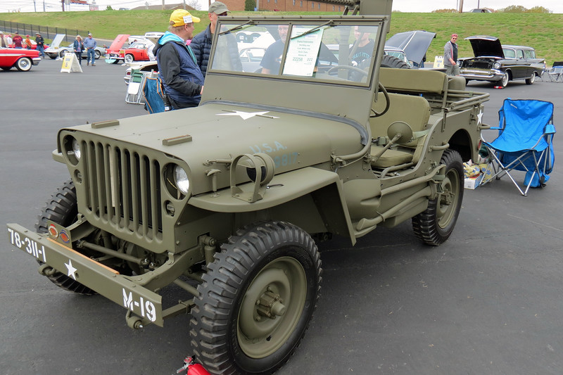 1944 Willys Jeep.