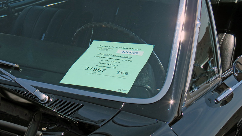 1966 Chevrolet Chevelle SS396.