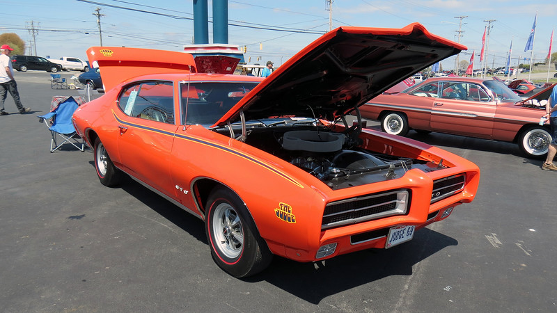 1969 Pontiac GTO Judge.