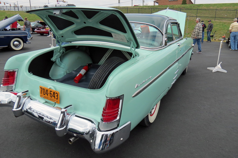 The Sun Valley coupe found 9,761 buyers in 1954.