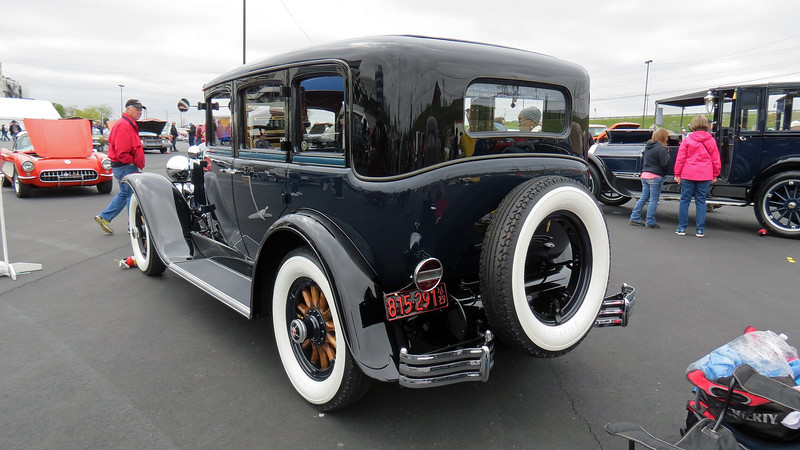 The Series 121 Model 50 is also known as the Master Six sedan.