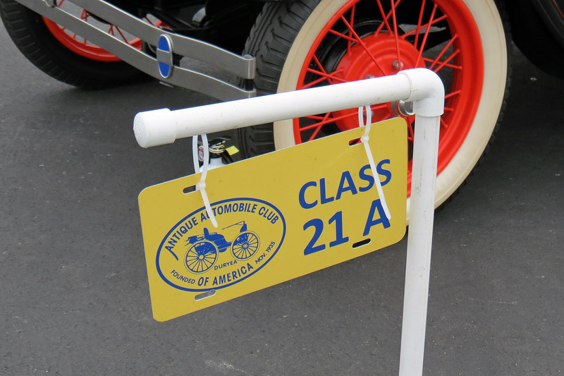Class 21A:  Ford Model A, open vehicles, 1928 - 1929.<br /> <br /> Class 21 is reserved for Fords from 1928 - 1948 and is broken down into 8 sub-classes.