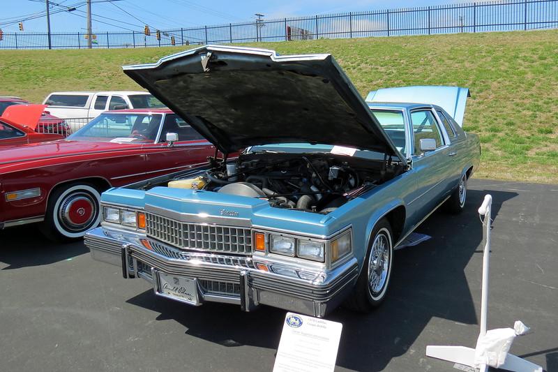 1978 Cadillac Coupe de Ville.