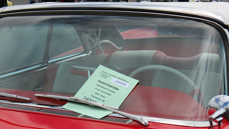 1958 DeSoto Firedome convertible.
