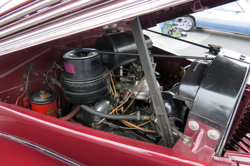 The Graham supercharger was introduced for the 1934 model year.