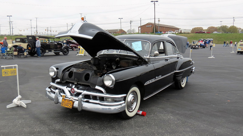 1951 Pontiac Chieftain Eight sedan.