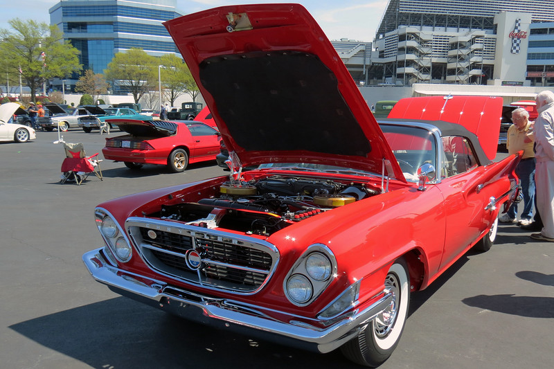 1961 Chrysler 300G convertible.