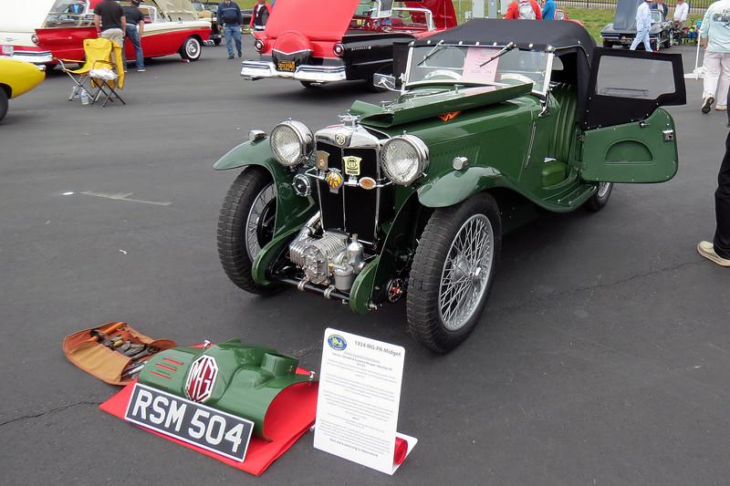 1934 MG PA.