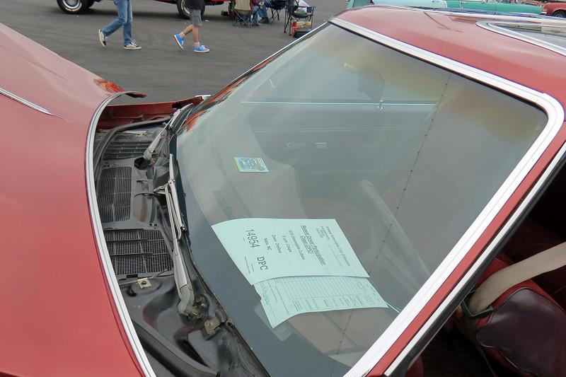 1976 Oldsmobile Cutlass Salon coupe.