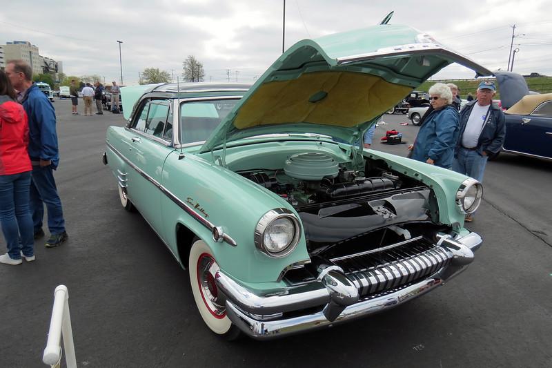 1954 Mercury Monterey Sun Valley coupe.