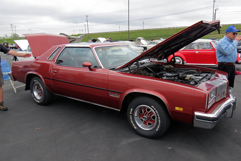 1976 Oldsmobile Cutlass Salon coupe.