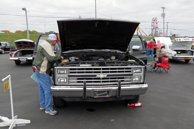 1985 Chevrolet K10 pickup.