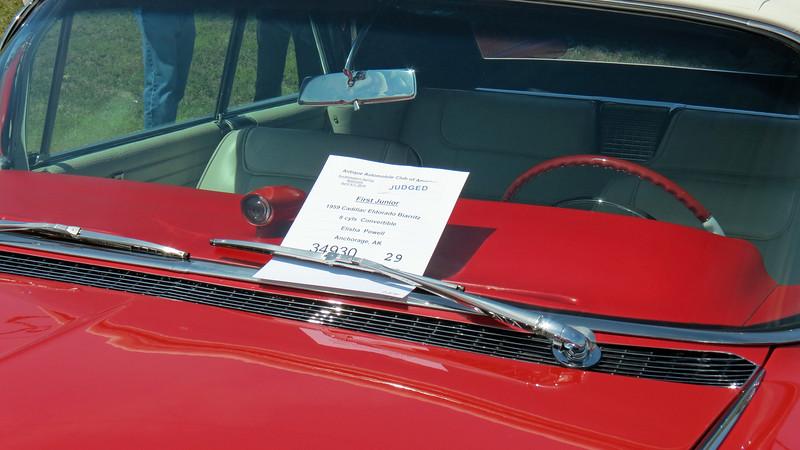 1959 Cadillac Eldorado Biarritz convertible.