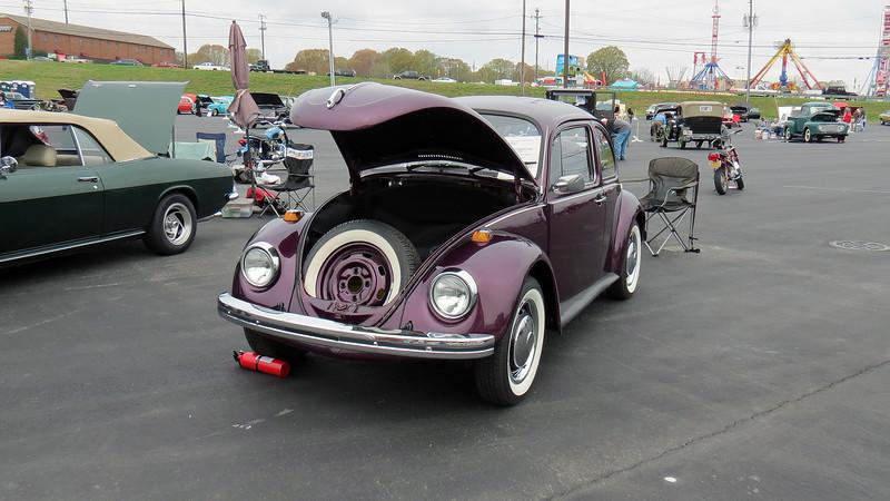 1972 Volkswagen Beetle.
