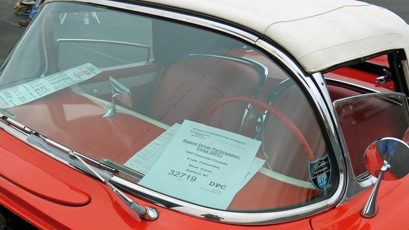 1957 Chevrolet Corvette.