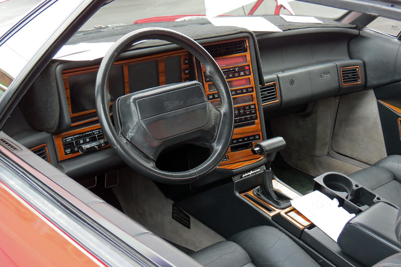The button-happy instrument panel wasn't everyone's cup of tea.  Even so, I've always liked the Allante, and would own one in a heartbeat.