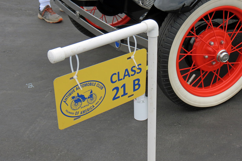 Class 21B:  Ford Model A, closed vehicles, 1928 - 1929.