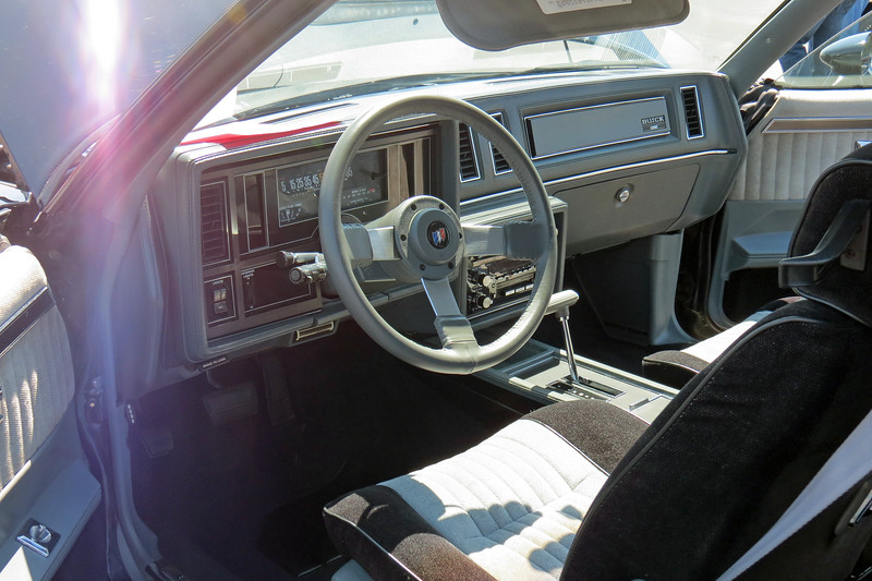 "Unfortunately, the GN was also known for its less than stellar interior.  I remember reading a contemporary road test back in the day, (can't remember if it was Car and Driver or Motor Trend), that described the car as, ""Darth Vader on the outside, Rosanne Barr on the inside."""
