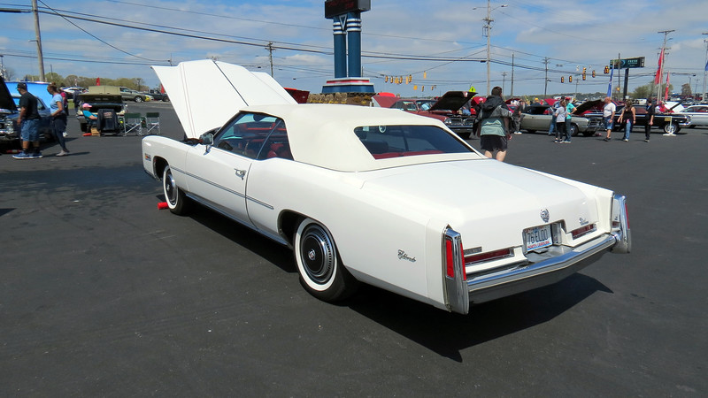 "This was supposed to be ""the last convertible"" thanks to anticipated government legislation that was being considered at the time.  Cadillac took advantage of this and marketed the car as such.  Convertible sales for 1976 reached 14,000 cars, more than any previous year of the 7th generation Eldorado."