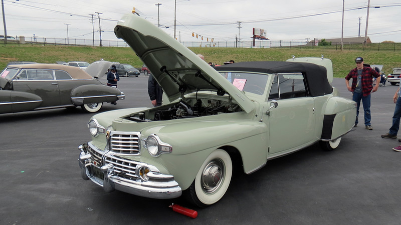 1946 Lincoln Continental convertible.