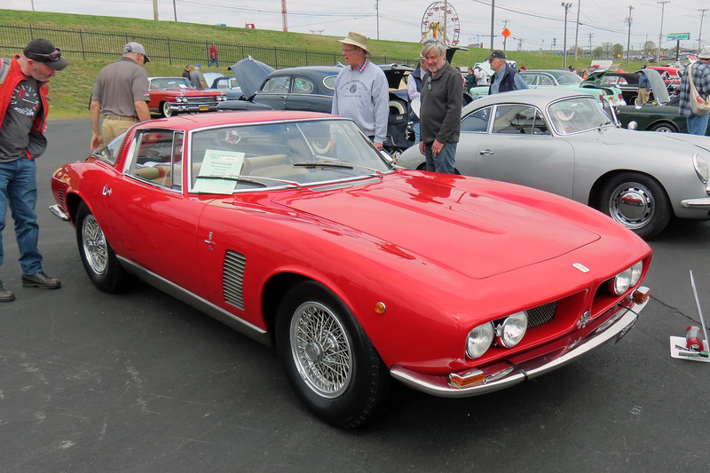 This is a very rare car, 1 of 412 Grifos produced over the model run from 1965 - 74.