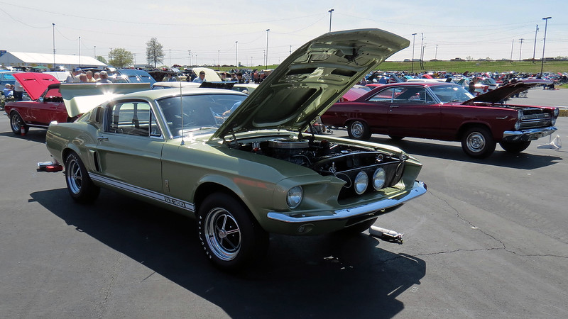 1967 Shelby Mustang GT350.